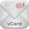 Envelope for vCard